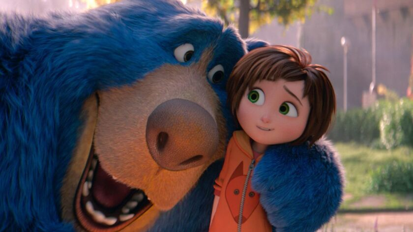"A scene from Paramount Pictures' ""Wonder Park,"" which is expected to open with a lackluster $10 million to $14 million this weekend."