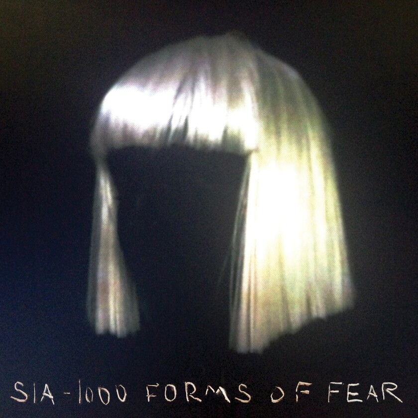 "The new album by Sia is ""1000 Forms of Fear."""