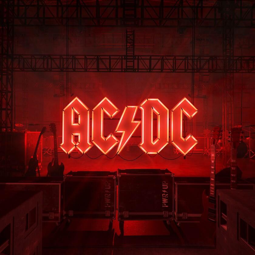 """La portada del álbum """"Power Up"""" de AC/DC"""
