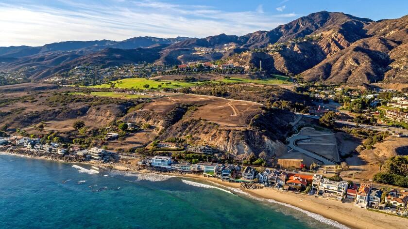 Developer Scott Gillen bought this undeveloped 24-acre property above Malibu Colony.
