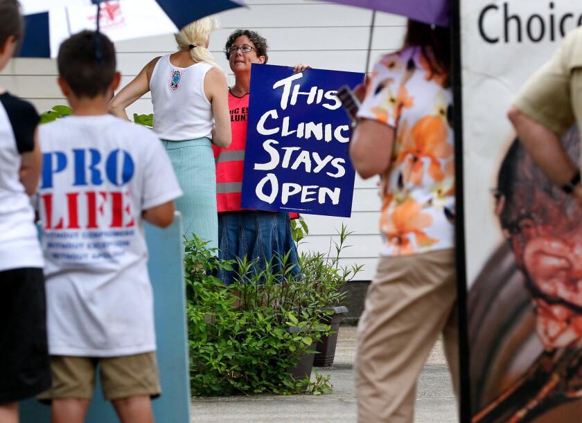 Abortion controversy in Louisiana