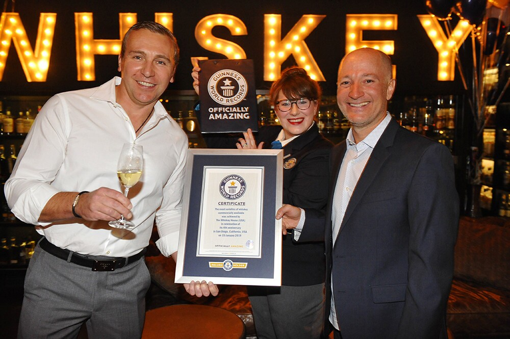 Whiskey House Guinness World Record Party