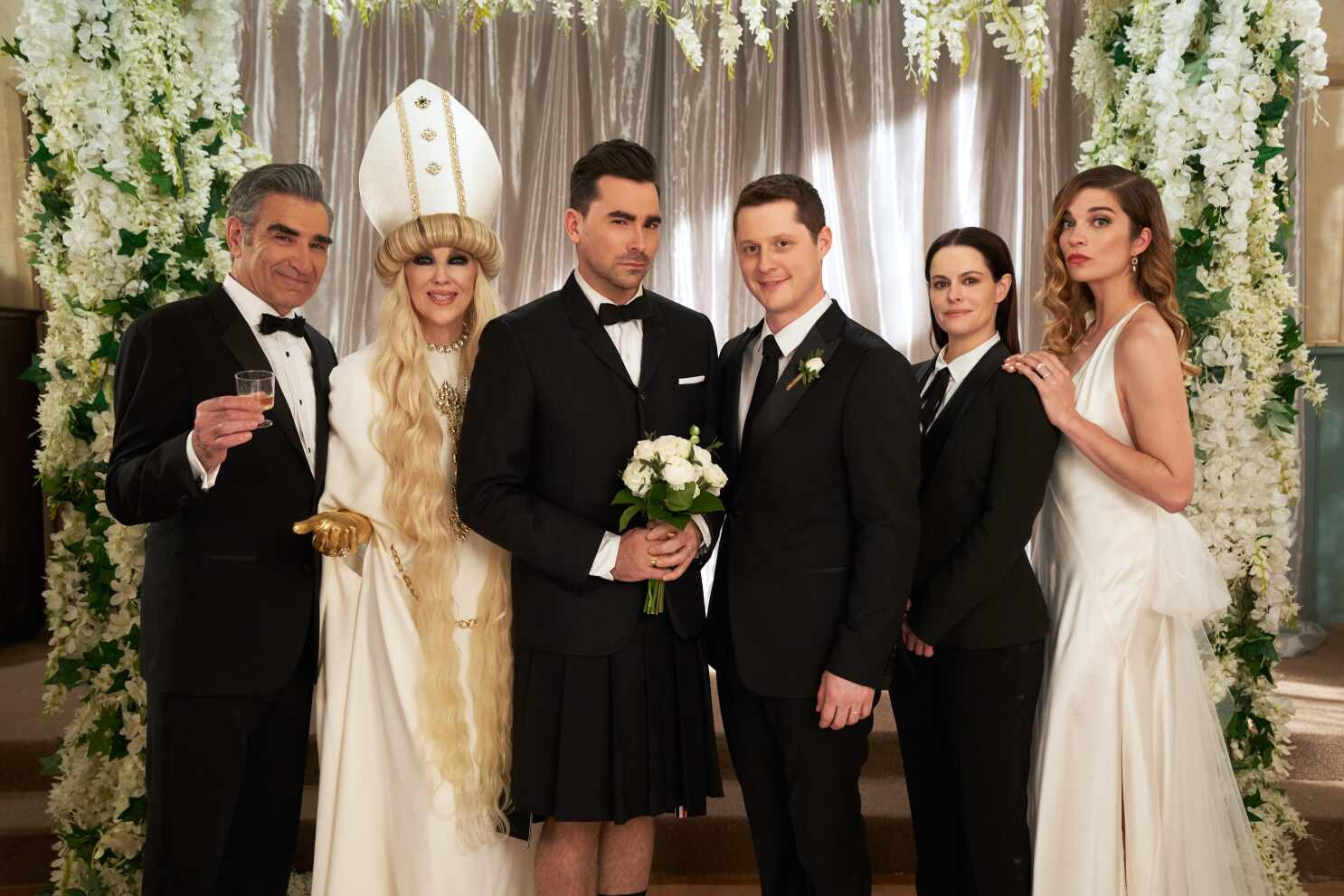 Schitt's Creek' finale: Look back at the best cast moments - Los Angeles Times
