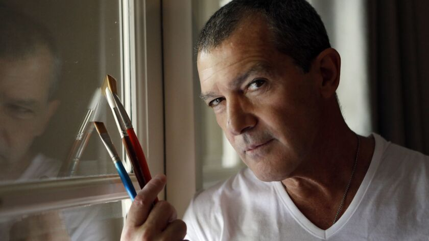 Antonio Banderas shows his artistic side in Nat Geo's