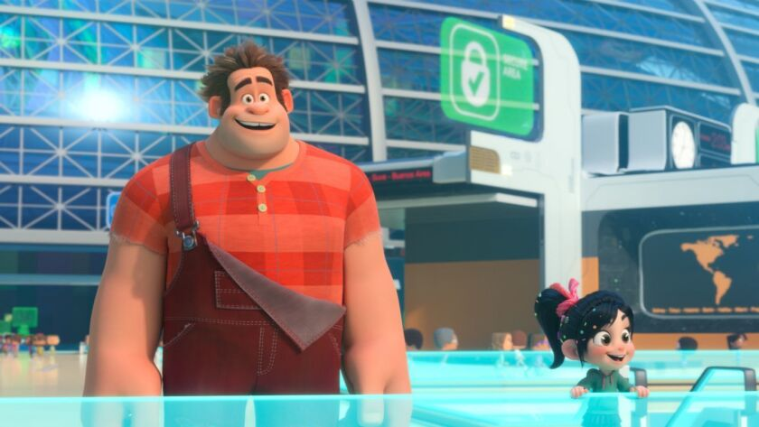 Review It Has Wit And Energy To Burn But Ralph Breaks The Internet Takes A Cynical Turn Los Angeles Times