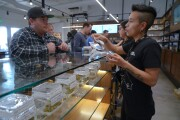 Crowds swamp San Diego's pot shops on first day of recreational marijuana sales