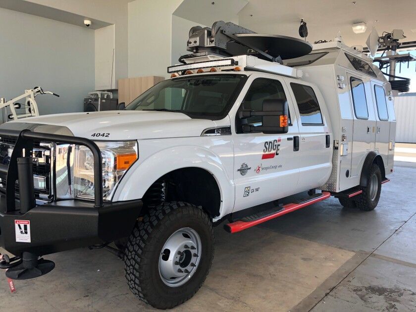 San Diego Gas & Electric has acquired a tactical command vehicle that will be deployed during wildfires to help improve communications and provide more information about fires to incident commanders.