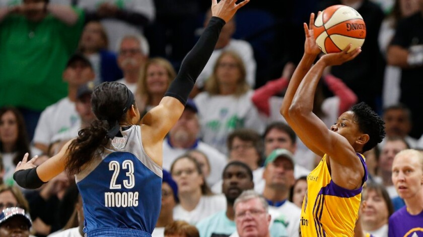 Alana Beard's contributions to Sparks came even before winning Game 1 shot