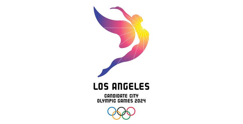 LA 2024 unveils logo for Olympic bid