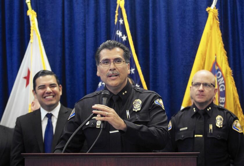 Long Beach mayor and police chief