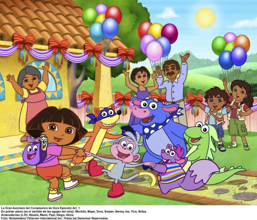 """Nickelodeon, home to """"Dora the Explorer, is launching an interactive channel."""