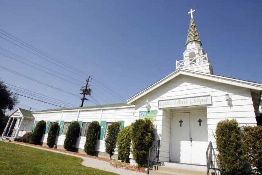 Little White Chapel in Burbank