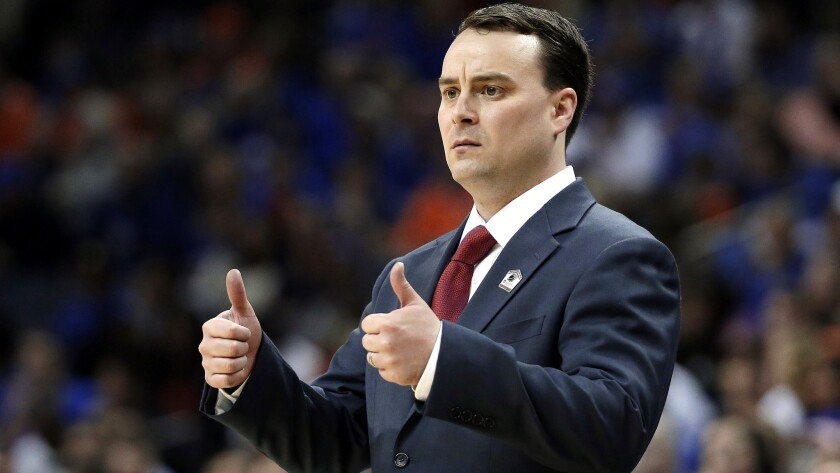 Archie Miller has a career college coaching record of 139-63. (Mark Humphrey / Associated Press)