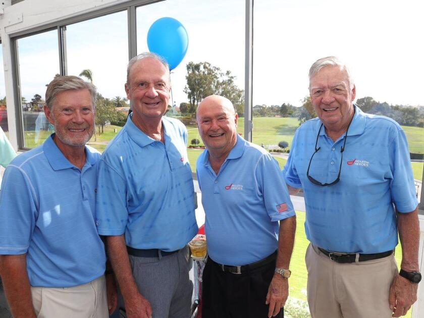 Roger Jordheim, Bill Hall, Rich Bruno, Rich Grace