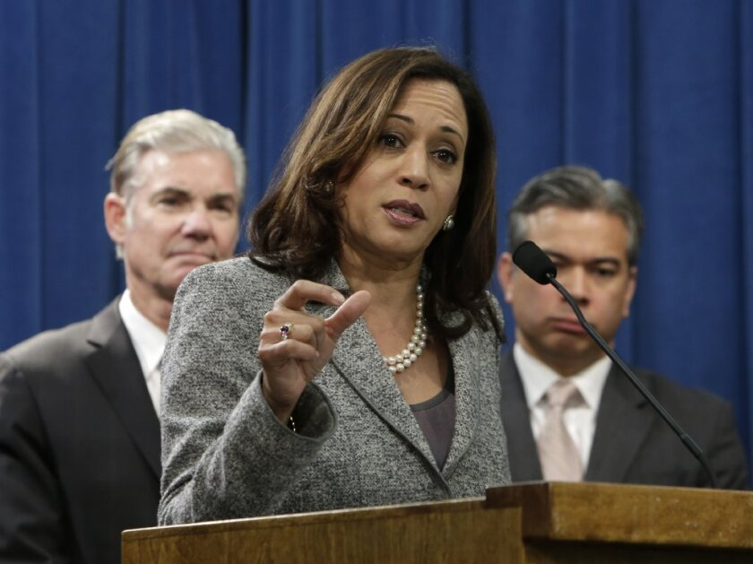 California Atty. Gen. Kamala D. Harris will appeal a federal court ruling that the state's death penalty is unconstitutional.