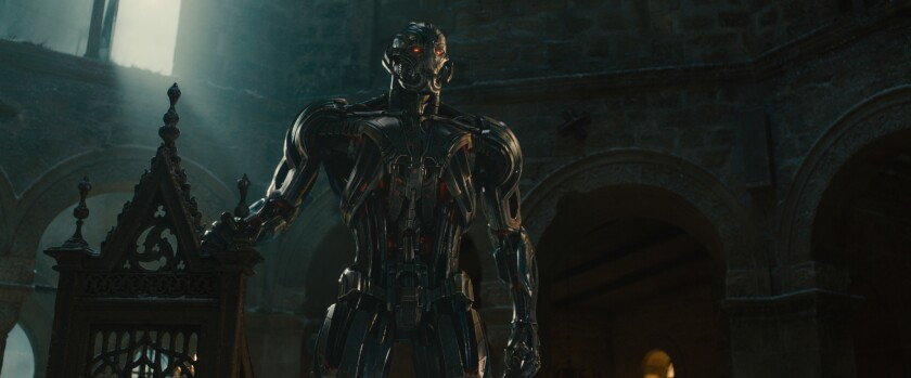 """James Spader as Ultron in """"Avengers: Age of Ultron."""""""