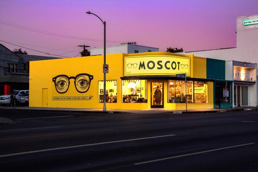 Moscot exterior