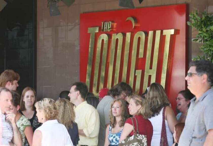 'The Tonight Show' experiences dark days