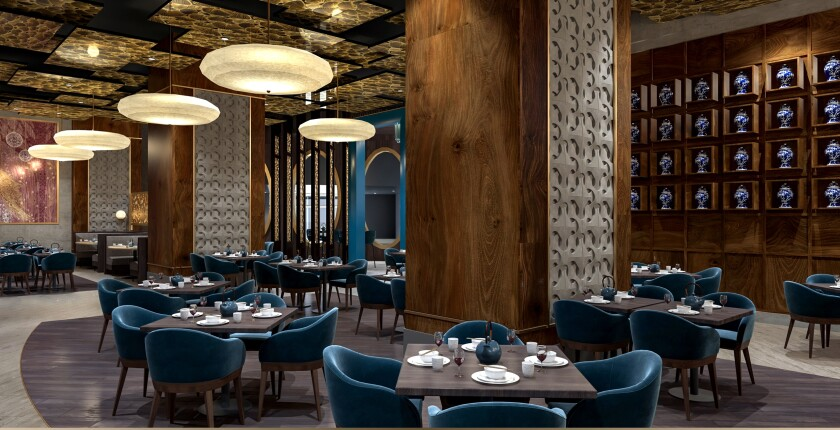 La nouvelle cuisine asiatique Mozen du Casino & Resort Morongo propose des plats de Chine, du Vietnam, de Corée, du Japon et de Thaïlande.