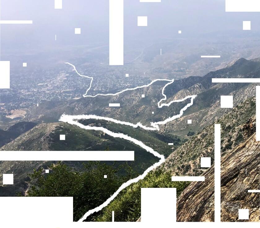 Mt. Lukens in the San Gabriel Mountains