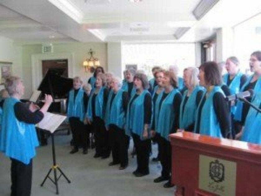 The Sweet Harmony Choir performs.