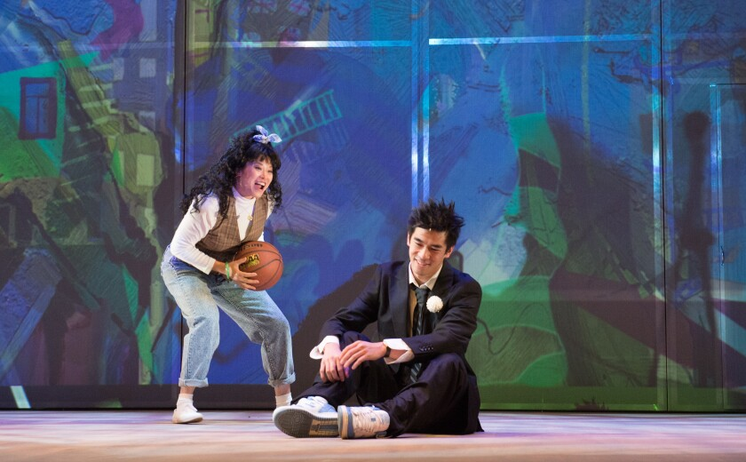 """The Great Leap"" at the Pasadena Playhouse"