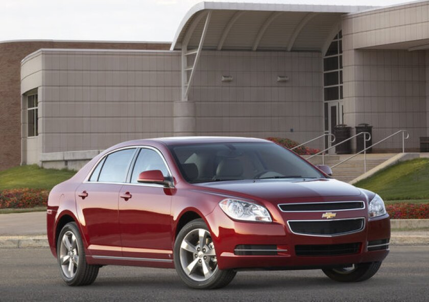 The very practical yet attractive 2010 Chevrolet Malibu LT.