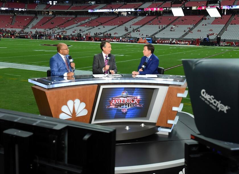 "NBC ""Sunday Night Football"" broadcast team"