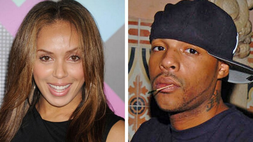 Stephanie Moseley, left, a dancer and reality-TV personality, and Earl Hayes, a rapper were found dead of gunshot wounds.