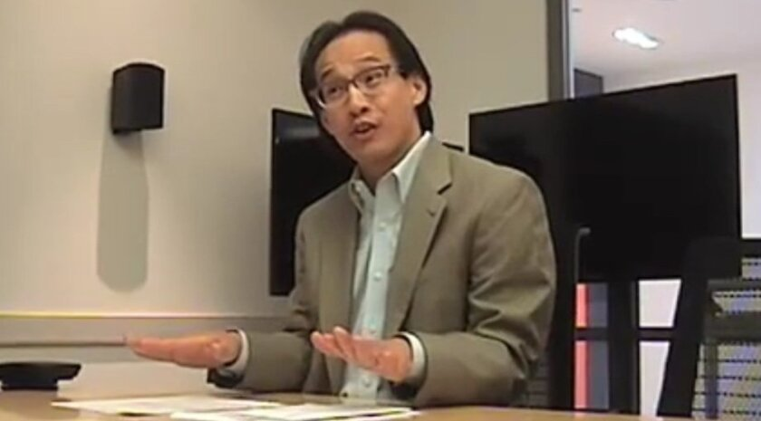 Michael Vu, San Diego County's Registrar of Voters.