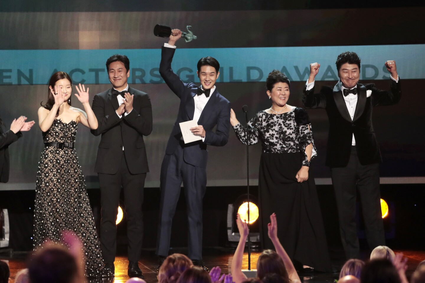 Sag Awards 2020 Show Highlights Los Angeles Times
