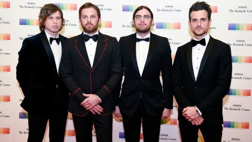 Kings of Leon will tour North America in 2017, starting at San Diego's Sleep Train Amphitheatre.