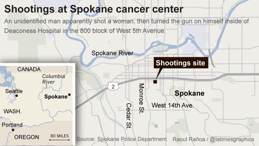 Murder suicide at Spokane cancer center