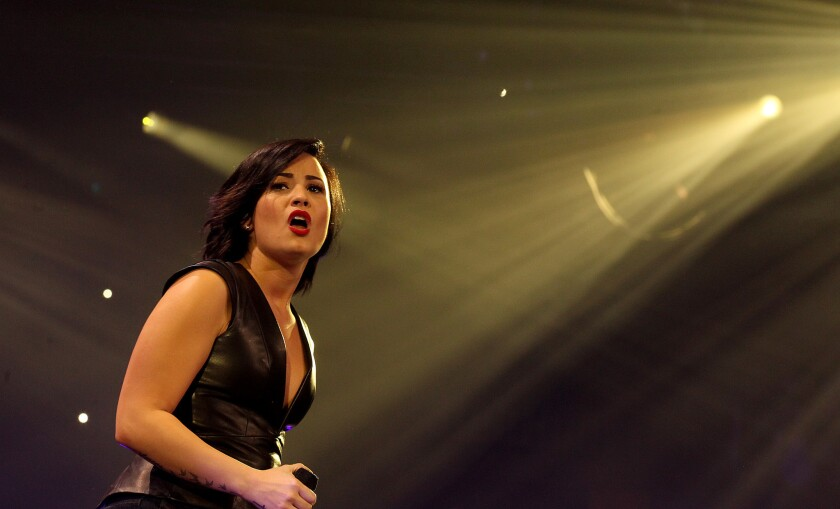 Demi Lovato is the face of a new mental health campaign.
