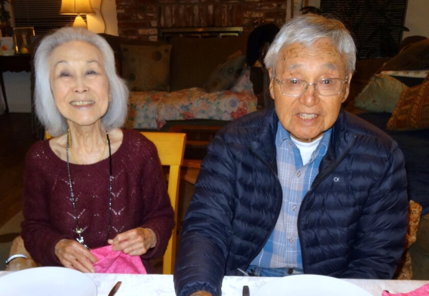 Esther Takei and Shig Nishio