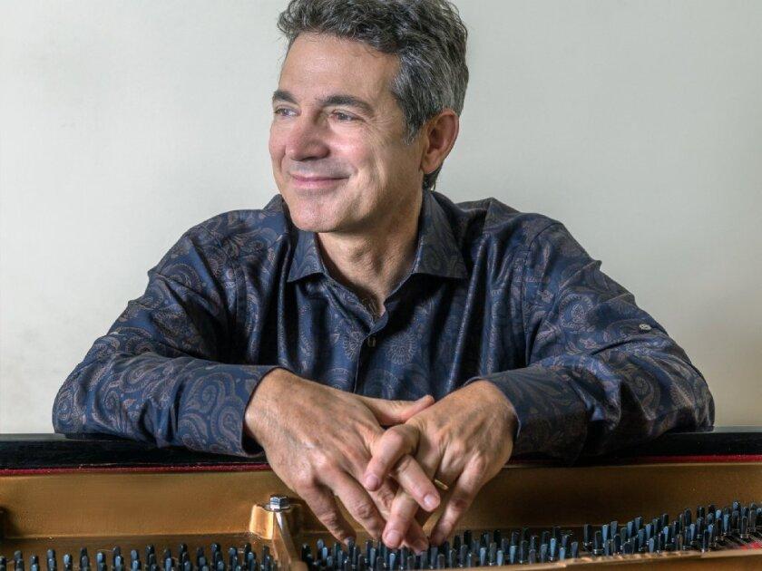 Pianist and UC San Diego music professor Aleck Karis performs Wednesday at Conrad Prebys Concert Hall.