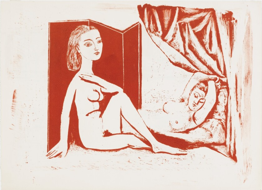 """Pablo Picasso, """"Two Nude Women"""""""