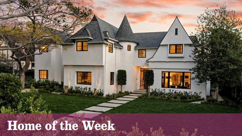 Home of the Week: English Tudor with a modern makeover in Santa Monica
