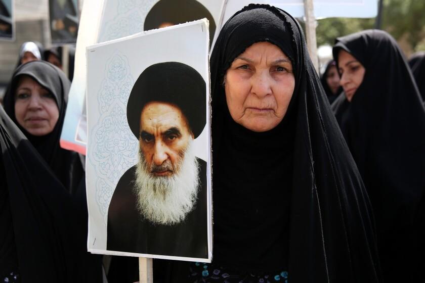 Support for Ayatollah Ali Sistani