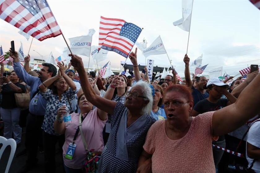 La Cámara baja de Puerto Rico aprobó hoy una medida de apoyo a Gregorio Igartúa por la querella presentada en 2006 ante la Comisión Interamericana de Derechos Humanos de la Organización de Estados Americanos (OEA) en contra EEUU por violación de derechos a los ciudadanos de la isla. EFE/ARCHIVO