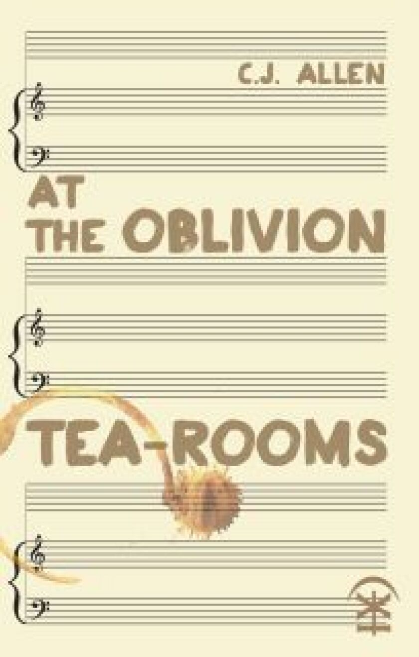 """C.J. Allen's poetry collection """"At the Oblivion Tea-Rooms"""" included plagiarized poems."""