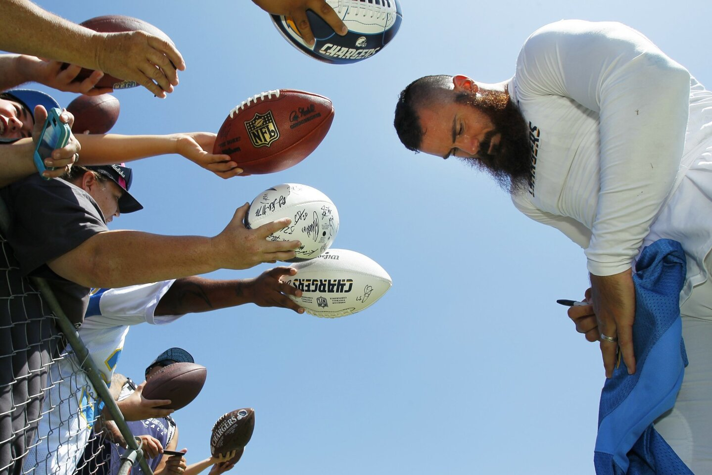 Chargers practice 8/12/14