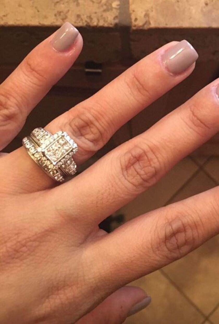 This wedding ring was lost near Wipeout Beach in La Jolla on July 8.