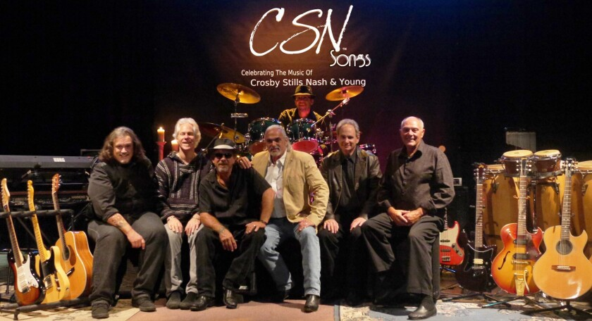 The members of the Crosby, Stills and Nash tribute band bring replicas of CSN songs to Las Vegas in August.