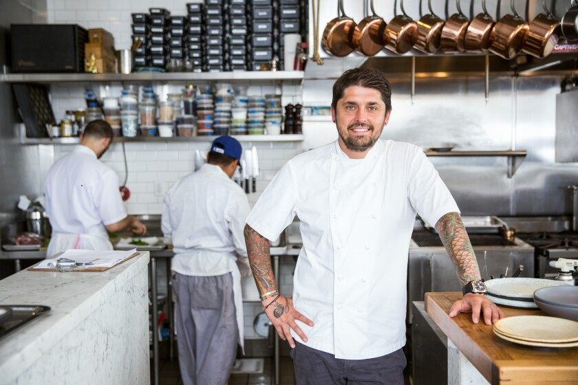Ludo Lefebvre is hosting a private lunch at Trois Mec