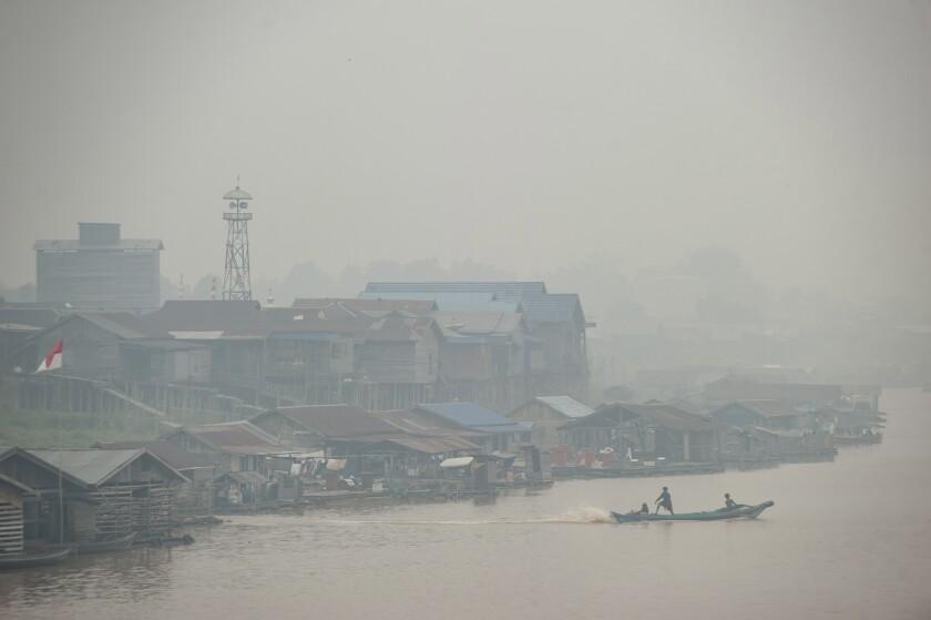 Indonesia Southeast Asia haze
