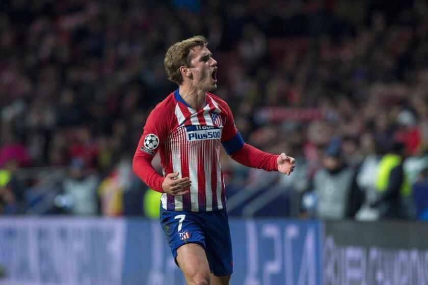 El delantero francés del Atlético de Madrid Antoine Griezmann. EFE/Archivo