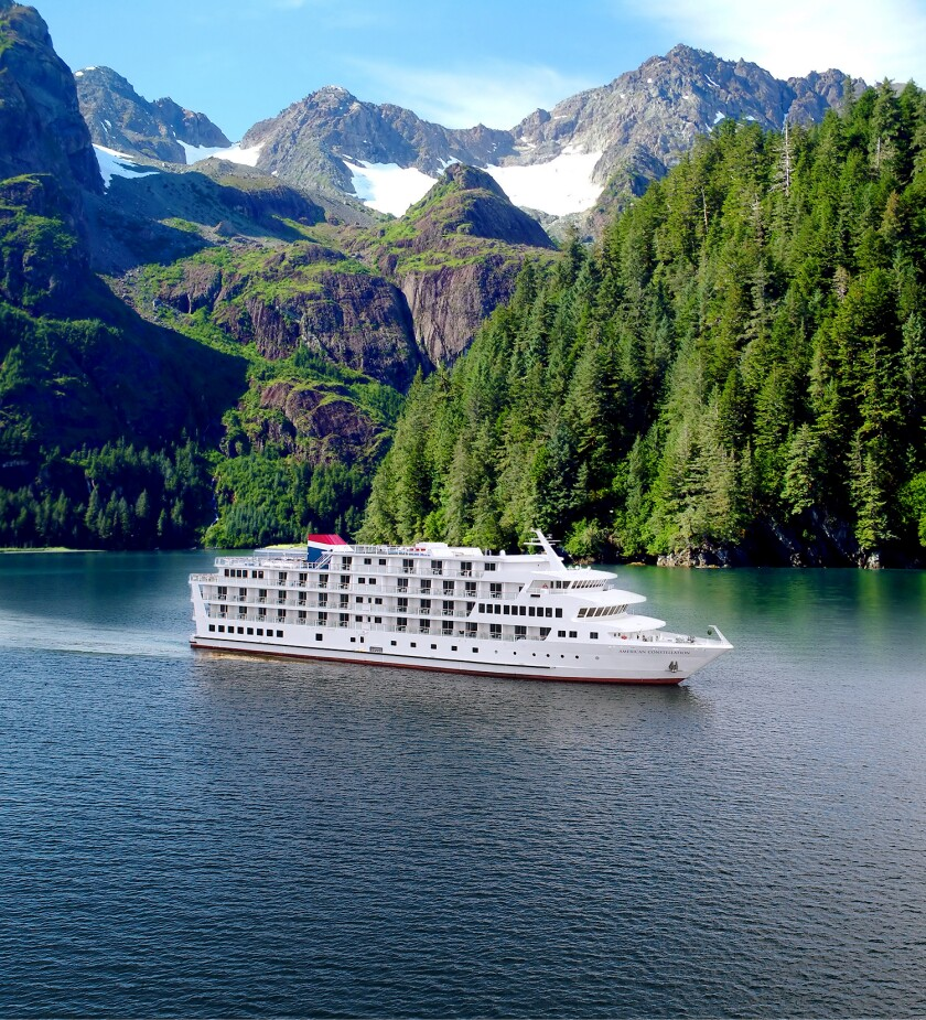 Big Cruise Lines May Skip Second Alaska Season Due To Covid 19 Los Angeles Times