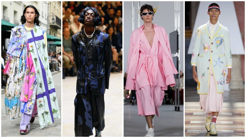 Summer Trends 2020.Gender Bending Fashion And 5 Other Menswear Trends For