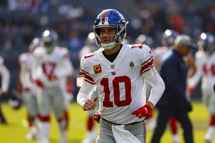 Giants Jones Injured Football